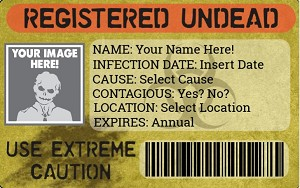 Registered Undead ID